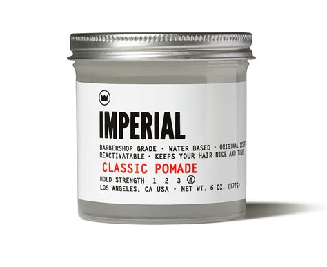 Pomade Imperial imperial classic pomade pomades co uk