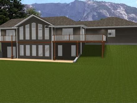 contemporary ranch with an in law apartment 80783pm small guest house floor plans house plans with attached 3