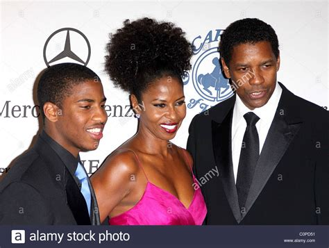 denzel washington and family denzel washington family stock photos denzel washington