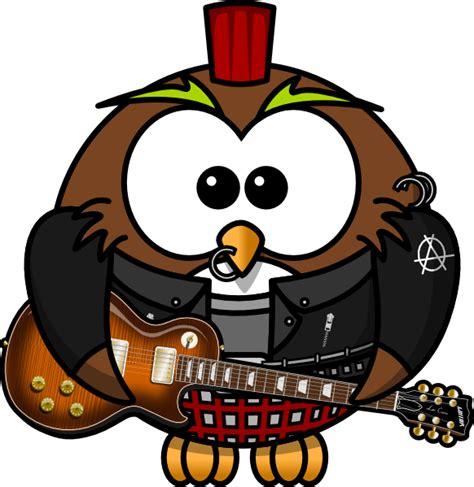 rockstar clipart owl rock clip at clker vector clip