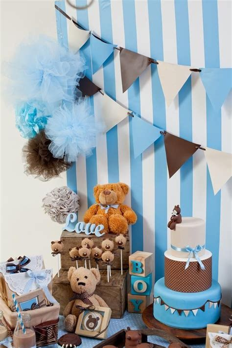 17 Best Ideas About Arreglos Decoracion Baby Shower Ni 241 O Decoracion Baby Shower