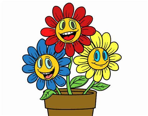 disegno vaso di fiori disegno un vaso di fiori colorato da utente non registrato