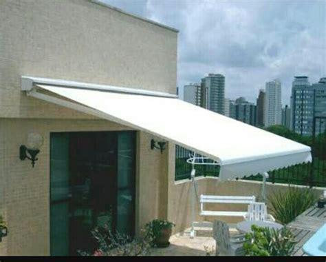 toldo retractil toldo retractil 4x3 estructura acero color blanco env dhl