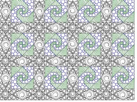 Digitized Quilt Patterns by Shop Category Product Sea Swept Quilt Set