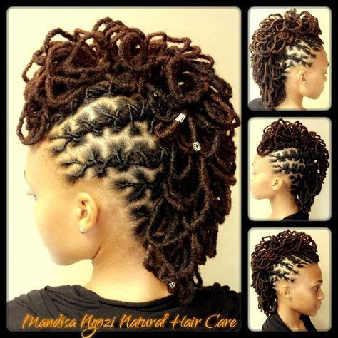 flo hawk hairstyles 278 best luscious locz hawk images on pinterest