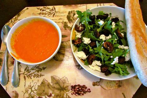 soup and salad dinner a soup salad kinda foodie fitness