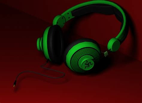 Headphone Razer Orca Razer Orca Headphones 3d Max