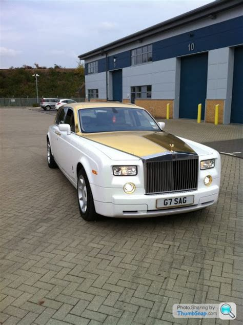 gold phantom car rolls royce phantom solid gold car 8 million