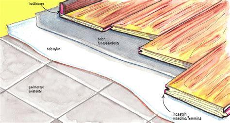 pavimento legno flottante parquet flottante tutte le fasi montaggio fai da te