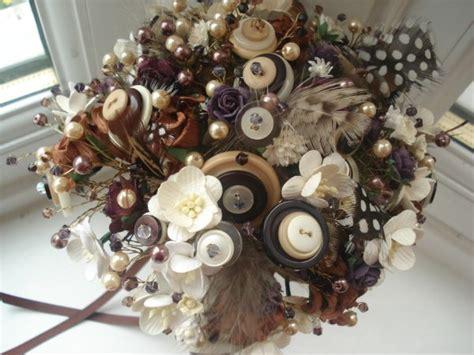 Wedding Bouquet Kota Kinabalu by Button Bouquet Extravaganza Cinta Is