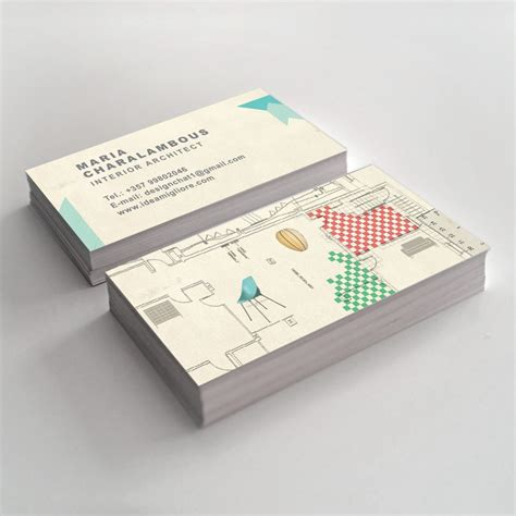 interior designer business card business card design for interior architect