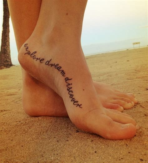 tattoo quotes for feet got my first tattoo based off the mark twain quote