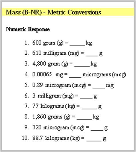 Nursing Math Worksheets by Math247 For Nursing Students