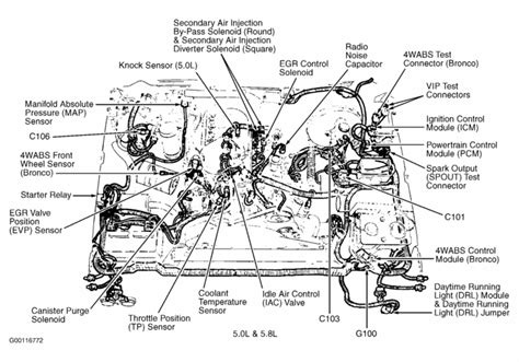 ford  engine diagram   ford  xlt  cid surging bucking ford ford