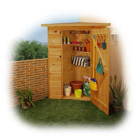 armarios exterior madera armarios de madera para la terraza