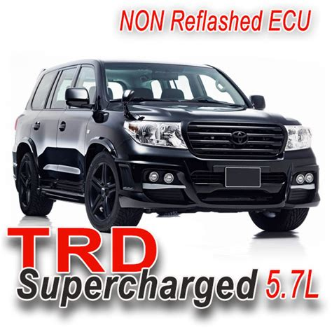 Toyota Land Cruiser 5 7 Supercharger 08 17 Land Cruiser 200 Series 5 7l Trd Sc Non Trd