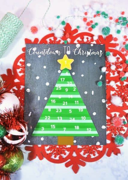 printable advent calendar christmas tree christmas tree printable advent calendar