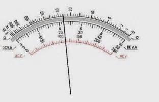 Berapakah Multimeter cara membaca jarum skala avometer multitester media