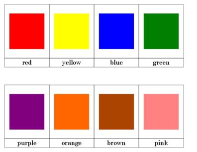 card colors color nomenclature cards