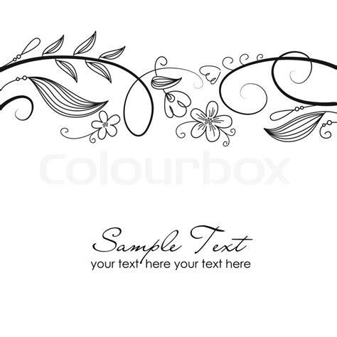 Verzierung Hochzeitskarte by Hochzeit Trauung Einladung Stock Vektor Colourbox