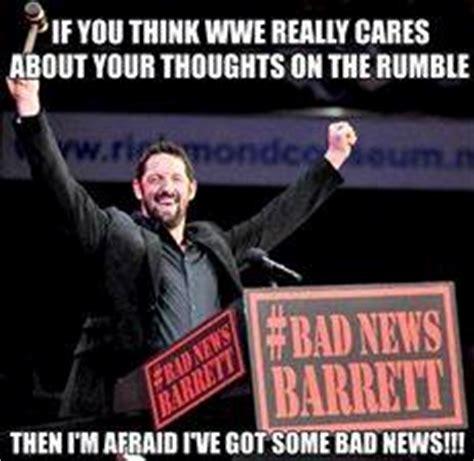 Bad News Barrett Meme - strength fighter janvier 2014