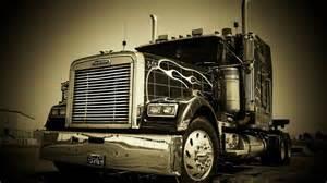 Cool semi trucks wallpaper semi truck wallpaper background
