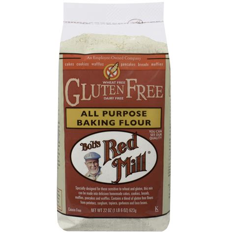 bobs red mill all purpose gluten free baking flour 22 bob s red mill all purpose baking flour gluten free 22