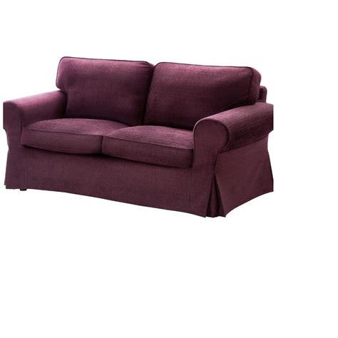 purple sofa cover ikea ektorp 2 seat loveseat sofa cover slipcover tullinge