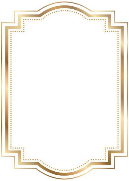 frame design bg border frame gold transparent clip art backgrounds