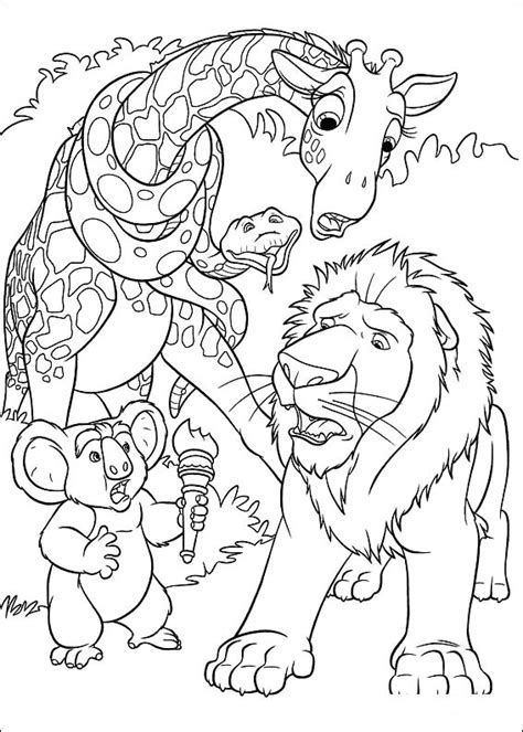 the wild coloring pages coloringpages1001 com