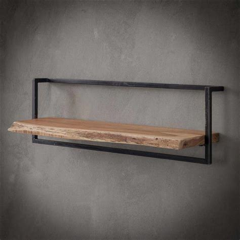 wall shelf jax  cm solid wood   stock