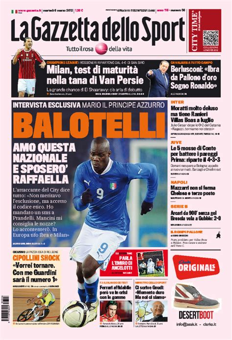 Serie C Standings by Italian Sports Newspaper Headlines For March 6th 2012