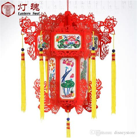 traditional paper christmas decorations 25cm color traditional paper lanterns used for gift home new year