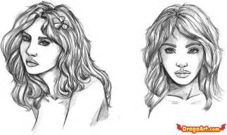 Pics photos how to draw faces step 3