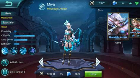 mobile legend guide mobile legends miya build guide
