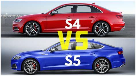Compare Audi A4 And A5 by Audi A5 Sportback Vs Audi A4 Autos Post
