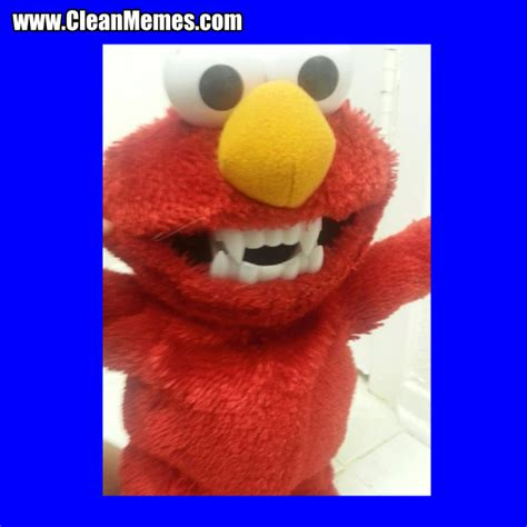 Elmo Meme - elmo teeth clean memes the best the most online