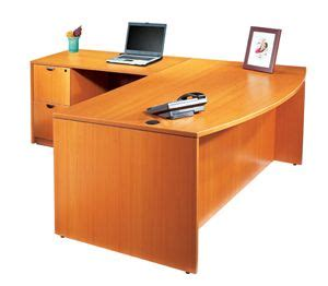 k series bow front l desk by dynamic office services in