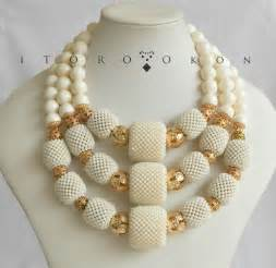 Nigerian wedding beads by itoro okon