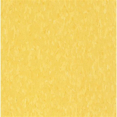Colorado Blinds Armstrong Imperial Texture Vct 12 In X 12 In Lemon