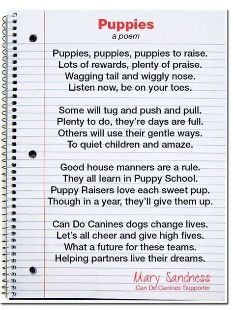 puppy poems poems about breeds picture