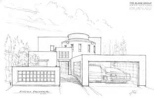 Modern House Drawing Gallery For Gt Big House Drawings