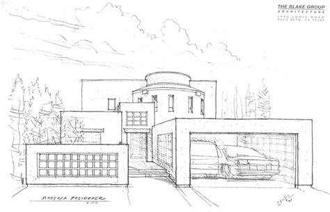 modern house drawing modern mansion drawing bigarchitects pinned by www modlar