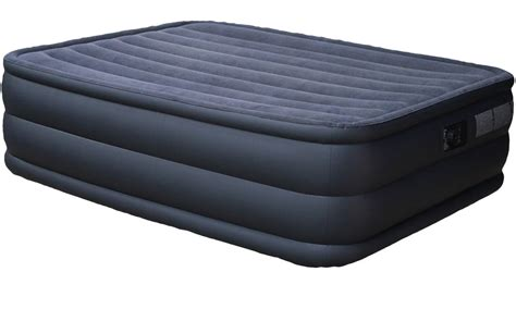 air mattress bed intex raised downy queen air mattress