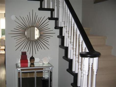 painting wood banister painting staining stair banister house home quot so