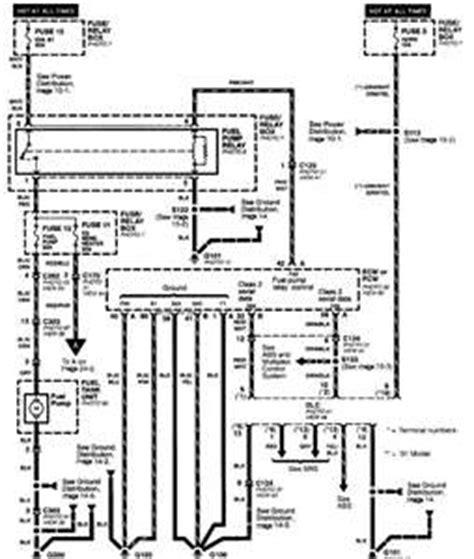 Solved 2001 Isuzu Rodeo Fuel Pump Wiring Diagram Fixya
