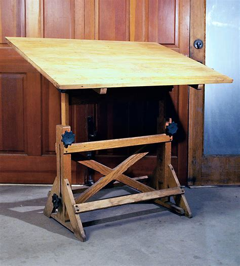 Custom Drafting Table Custom Drafting Tables Crafted Walnut Iron And Bronze Dual Taboret Custom Drafting Table By