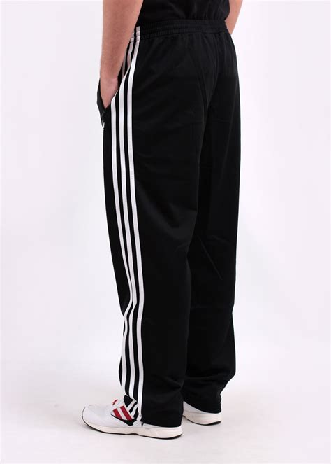 adidas firebird track pants adidas originals adi firebird track pant black white