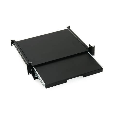 19 sliding lockable shelf 2u for keyboard and mouse keline