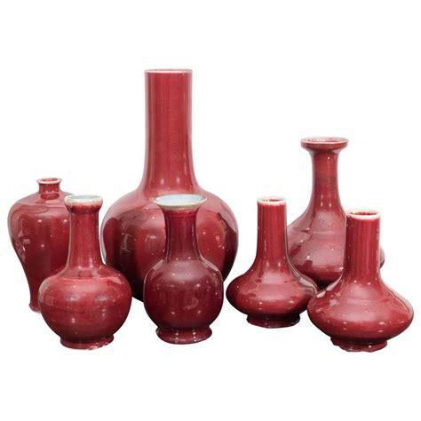 Oxblood Vase by Collection Of Oxblood Vases At 1stdibs